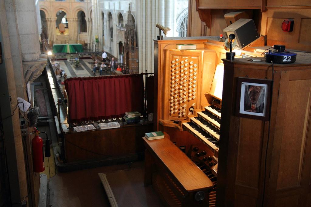 Organ loft at Norwich | The organ loft of Norwich Cathedral.… | Flickr