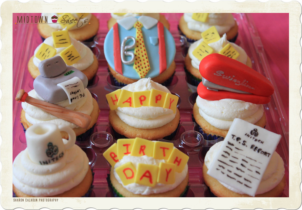 Office Space Cupcakes Midtown Sweets Flickr