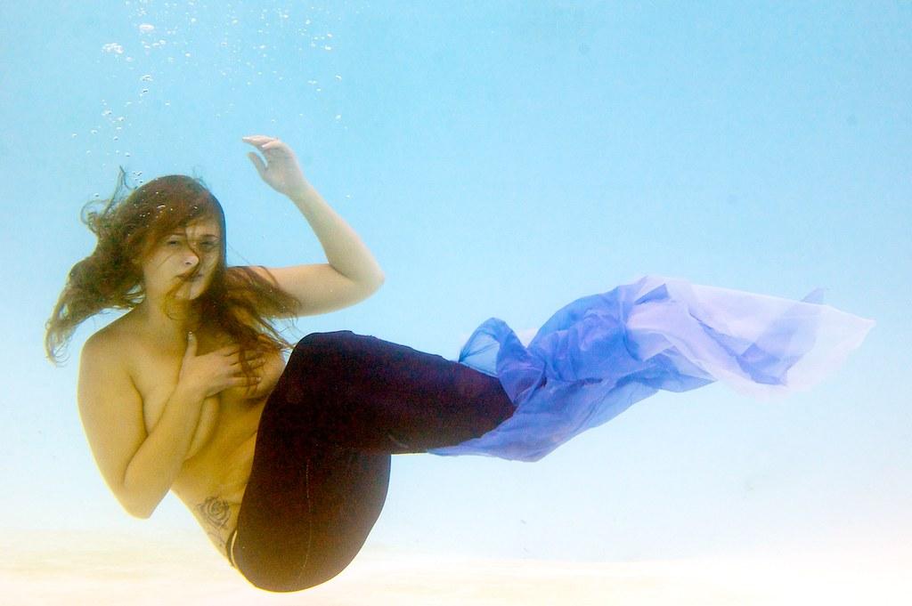 Amateur under water