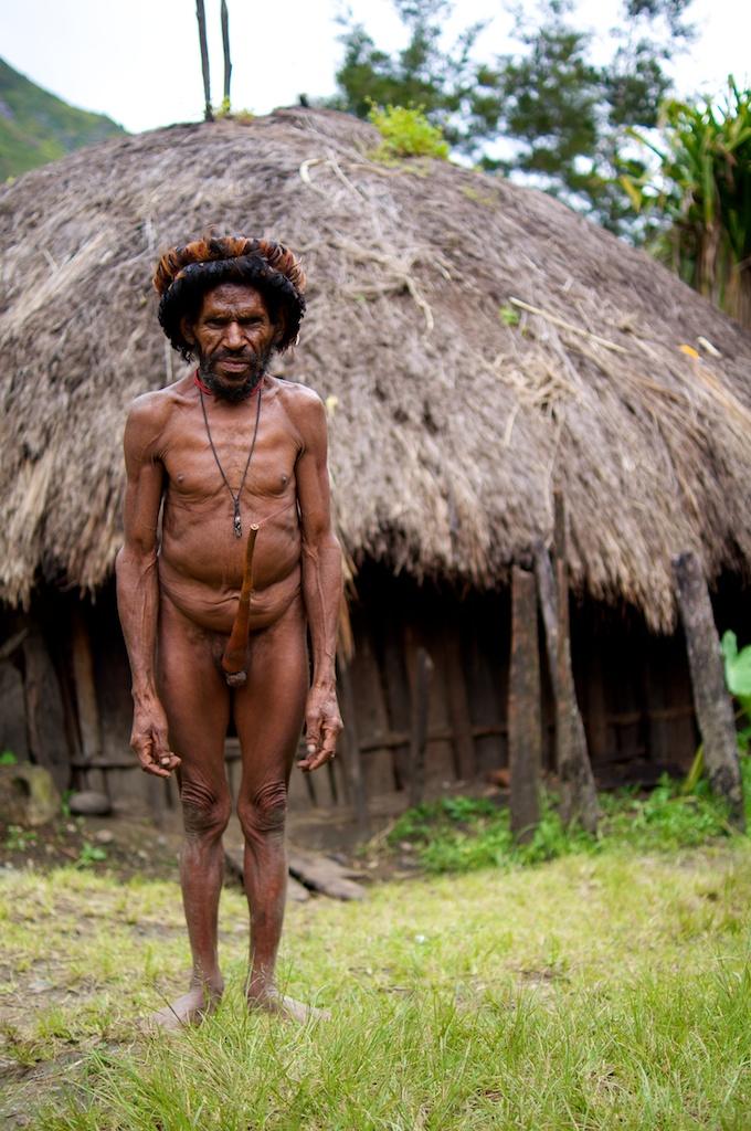 Papua Man Baliem Valley Occidental Papua Dani Tribe Tra Flickr