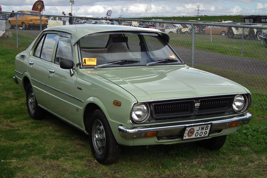 1976 Toyota Corolla Ke30 Se Sedan 1976 Toyota Corolla
