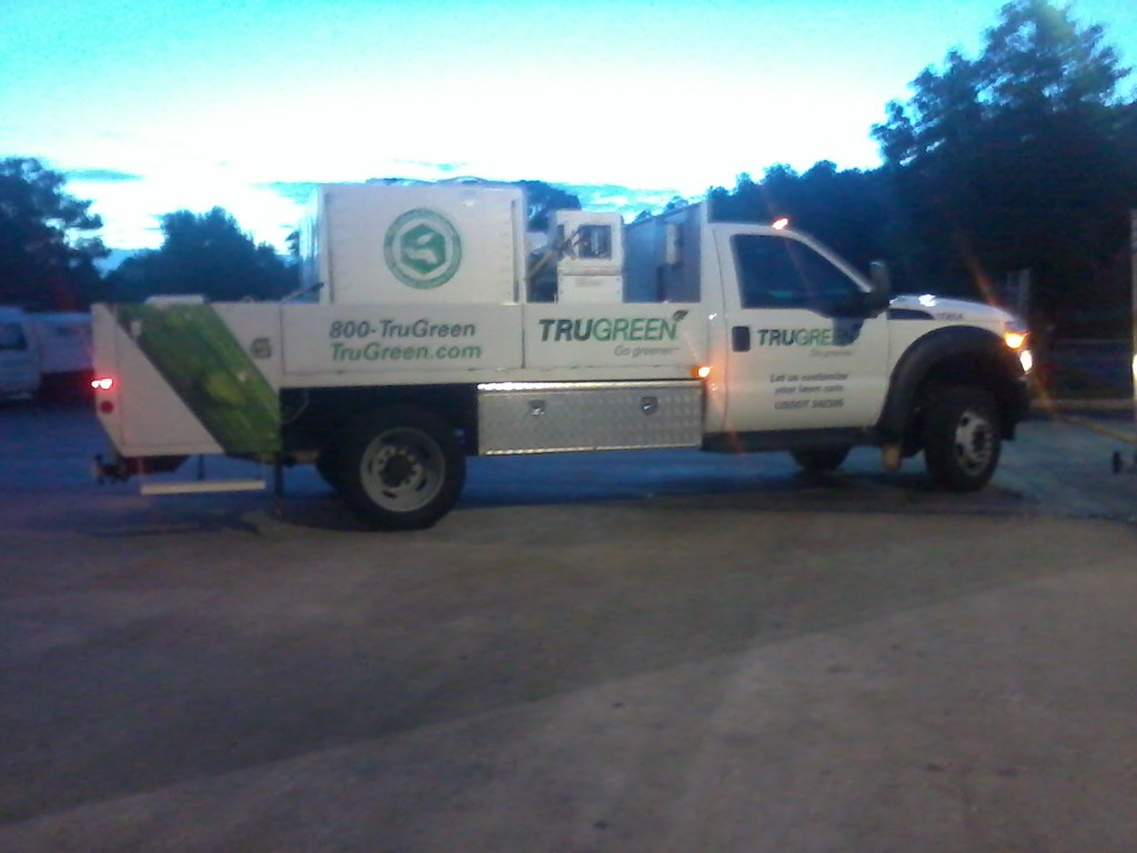 TruGreen's newest truck | This Ford F550 is the newest ...