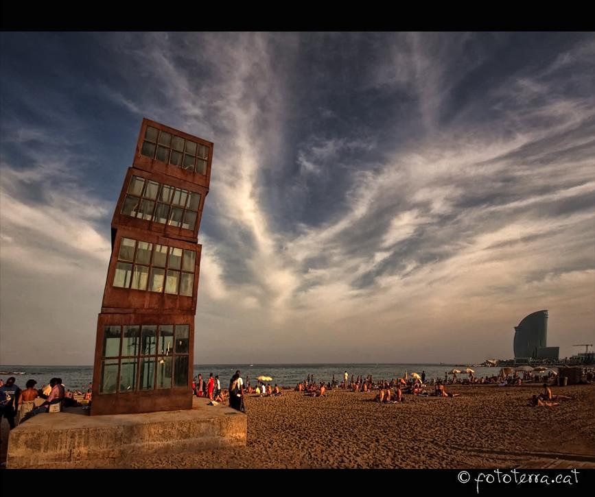 Vs Hotel: L'Estel Ferit Vs Hotel W [Barcelona]