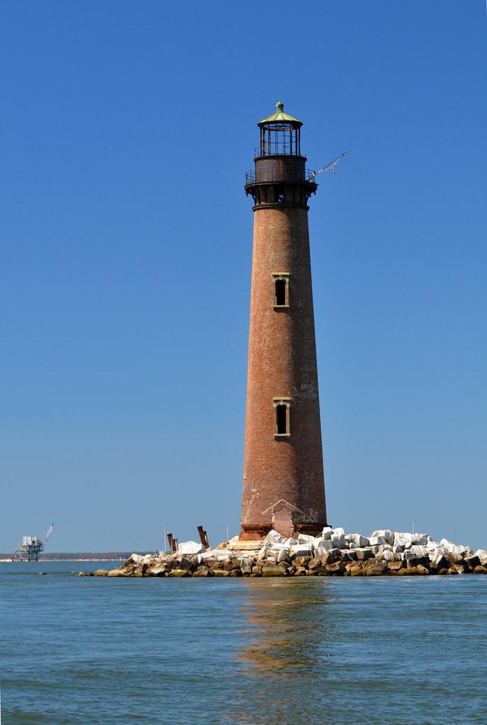 Sand Island Light House. Dauphin Island, AL | Located ...