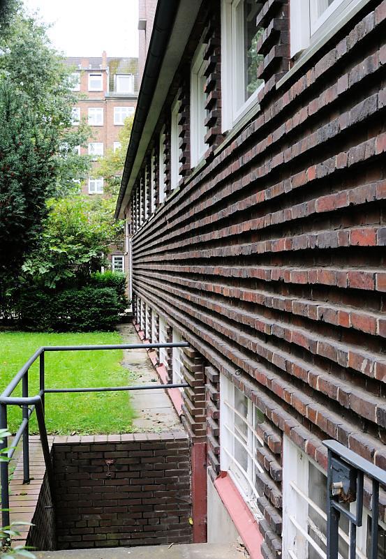 9433 backsteinfassade ziegelarchitektur wohnanlage hambu. Black Bedroom Furniture Sets. Home Design Ideas