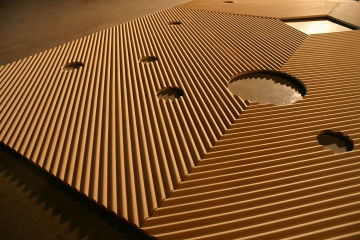 Textured Ceiling Panels CNC ROUTER new orleans | Construct: CNC ...