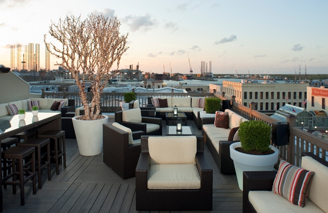The Rooftop Bar Tremont House Hotel Rooftop Bar