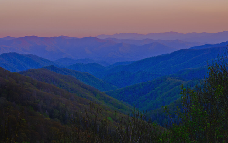 newfound gap great smoky mountain national park this
