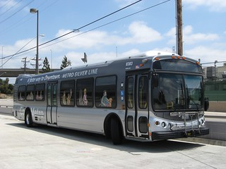 Metro Silver Line Bus | by Metro Transportation Library and Archive