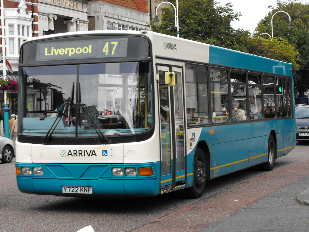 ... Arriva North West 2722 Y722KNF | by Alan Sansbury