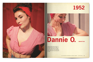 Vintage Magazine Spread Design Project - Pgs. 10 & 11 | by willstotler