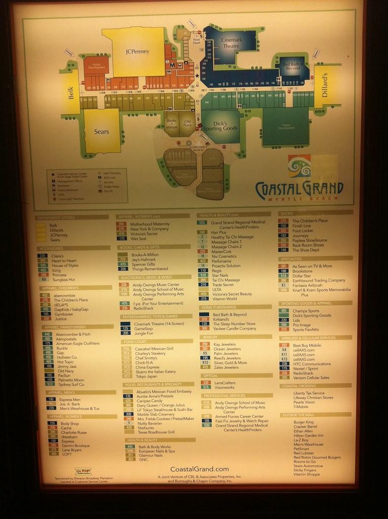 Coastal Grand Mall Map Directory   Coastal Grand Mall   Mike Kalasnik   Flickr Coastal Grand Mall Map
