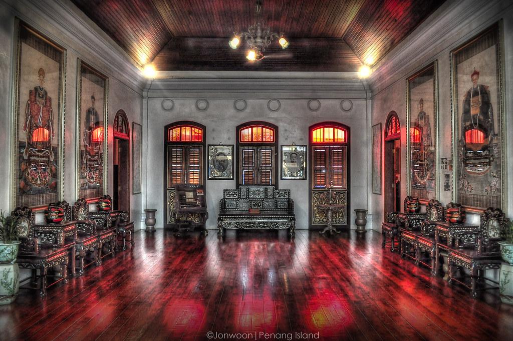Living Room Old Mansion