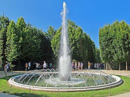 Ch teau de versailles yvelines bassin du bosquet de la for Versailles yvelines