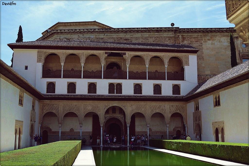 Palacio de comares alhambra de granada el cuarto o - Banos arabes palacio de comares ...