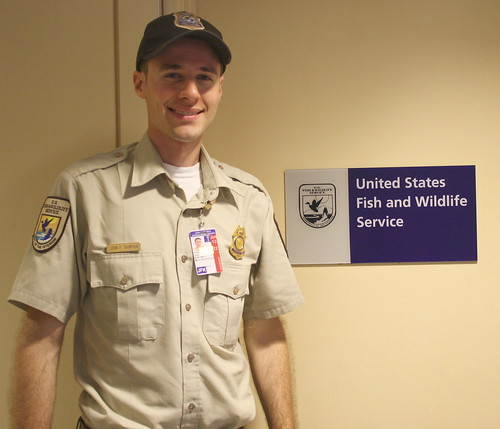 Inspector at jfk international airport inspectors from for Us fish and wildlife service jobs