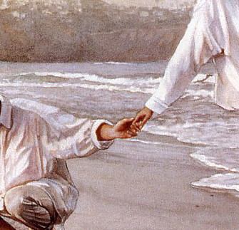 steve hanks holding the family together watercolor 1999 flickr