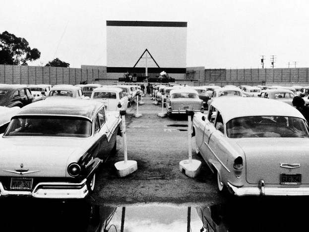 Car Dealerships In Fresno Ca >> Drive-in theatre, circa 1957 | The drive-in's peak ...