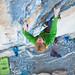 "Arnaud Petit sends ""Black Bean"" 8b/65m on trad climbing"