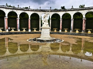 Inside the gardens at the Palace of Versailles | by Steve Kamb