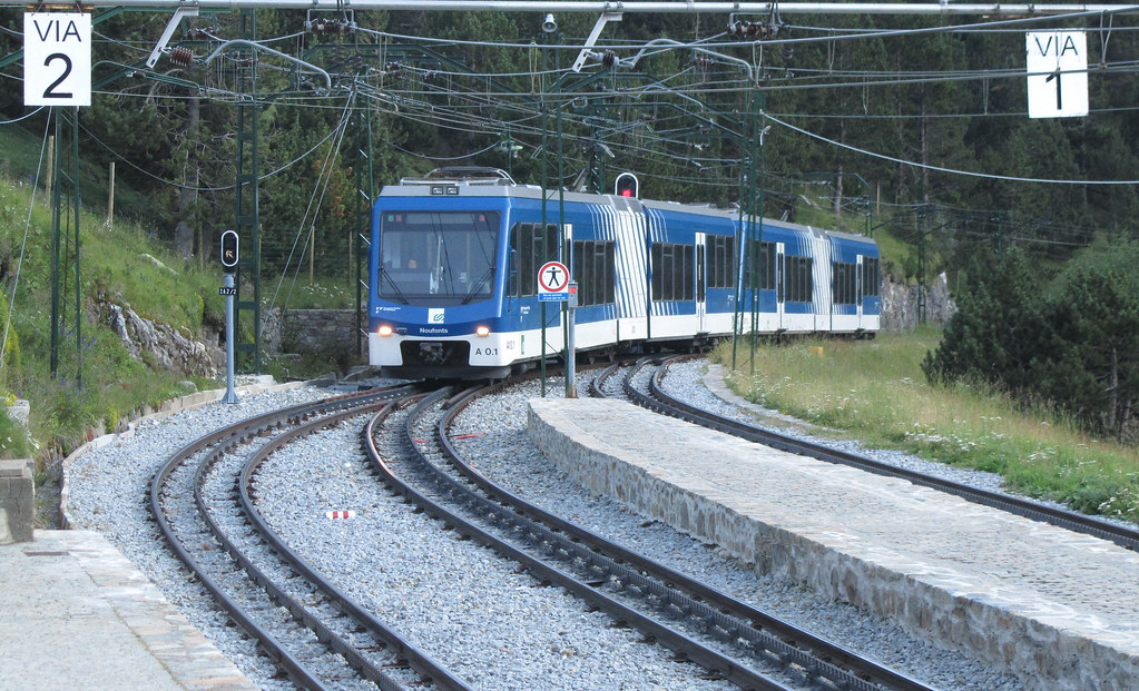 Tren cremallera del Valle de Nuria. | La foto me la han ...