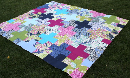secret garden quilt top | by randi @ i have to say...