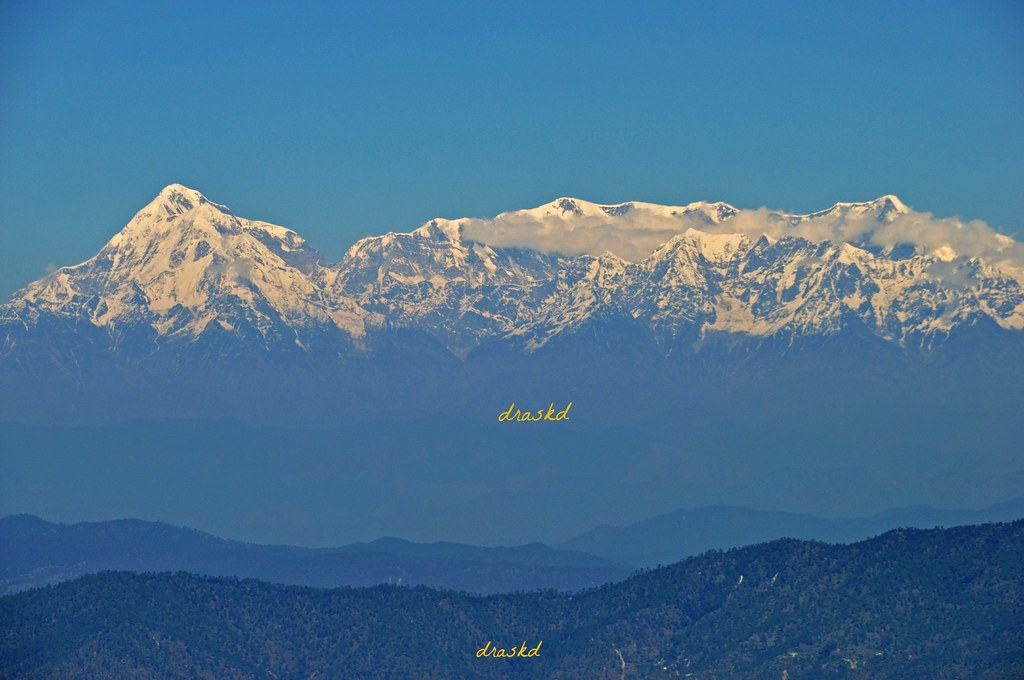 Kumaon Range From Snow View Point Nainital