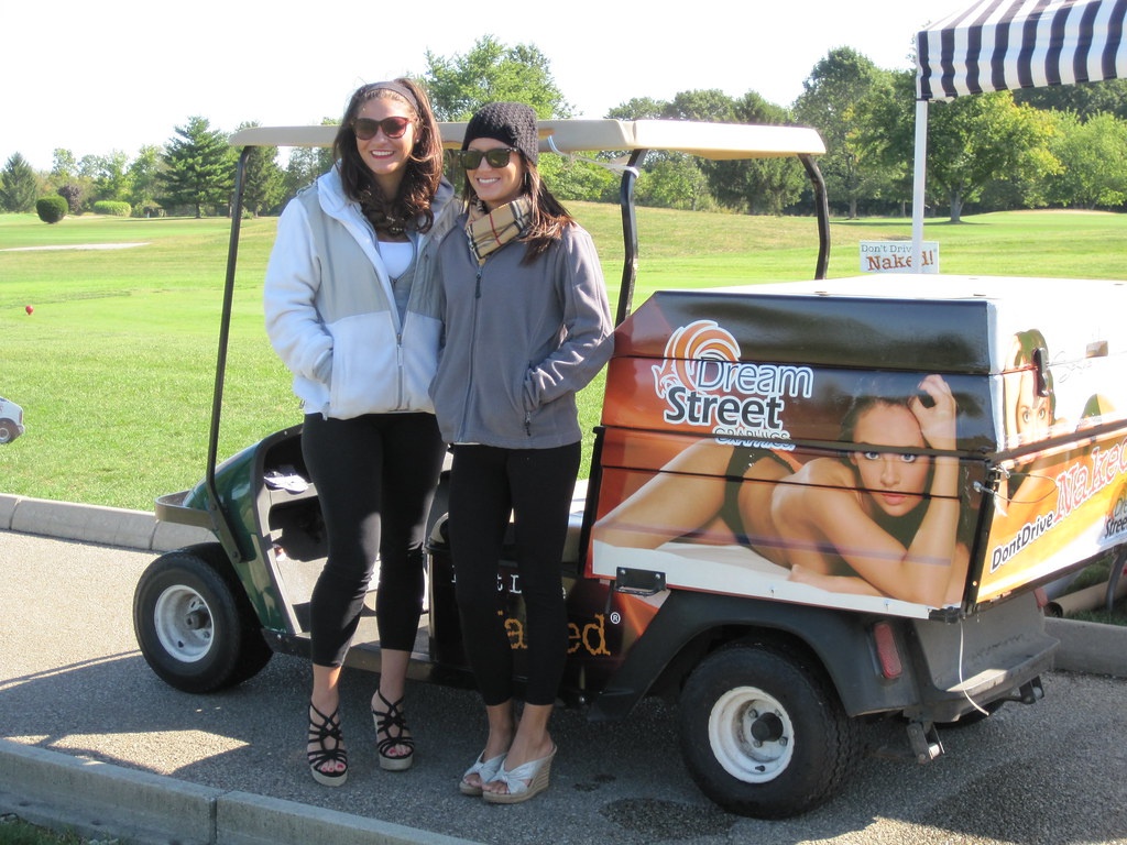 Dream Street Graphics Dream Girls With The Beverage Golf