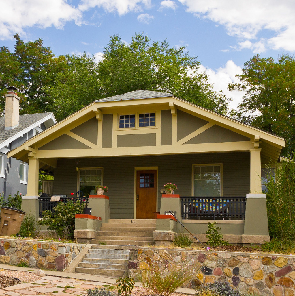 Gambrel Roof Bungalow House Photo Dean Flickr