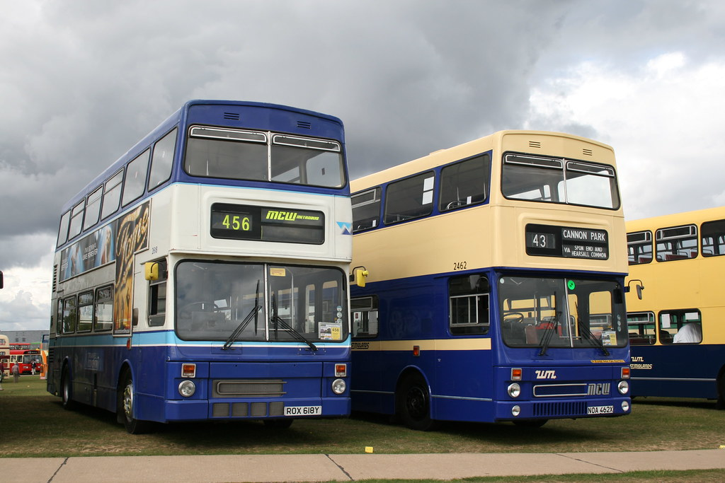 West Midlands Travel Coventry Mcw Metrobuses Preserved