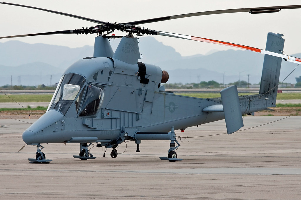 Elicottero Kaman K Max : Kaman k max unmanned multi mission helicopter a lock
