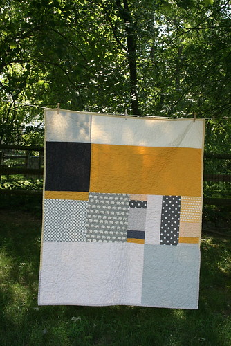Grey and Yellow Quilt | by Insung from NAMOO