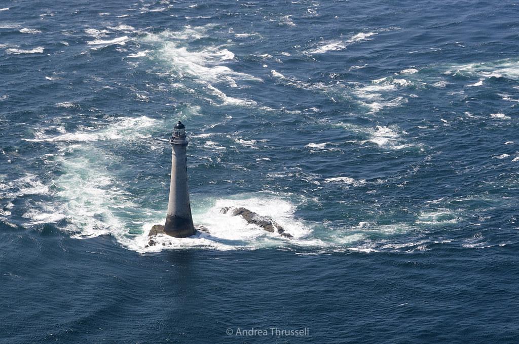 Chicken Rock Lighthouse Isle Of Man Chicken Rock