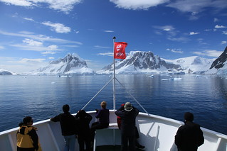 M/S Expedition in Penola Strait, Antarctica | by Liam Quinn