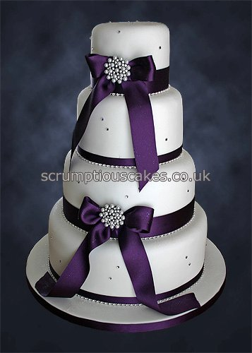 Wedding Cake Bling Ribbon