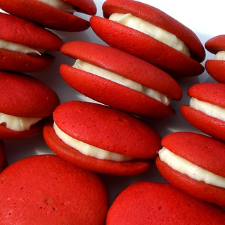 Red Velvet Whoopie Pies | by seelensturm
