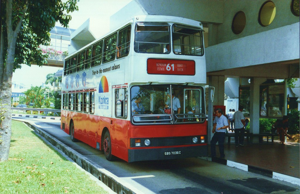 Singapore Buses (8) - 25 October 1989 | Singapore SBS ...
