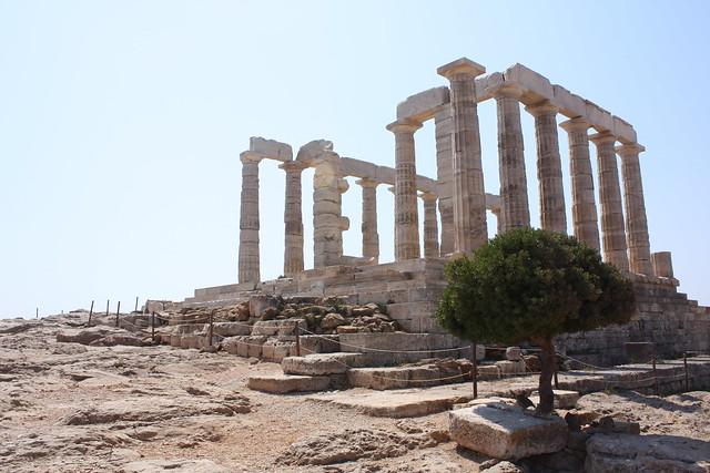 ancient Greek temple of Poseidon   Flickr - Photo Sharing!