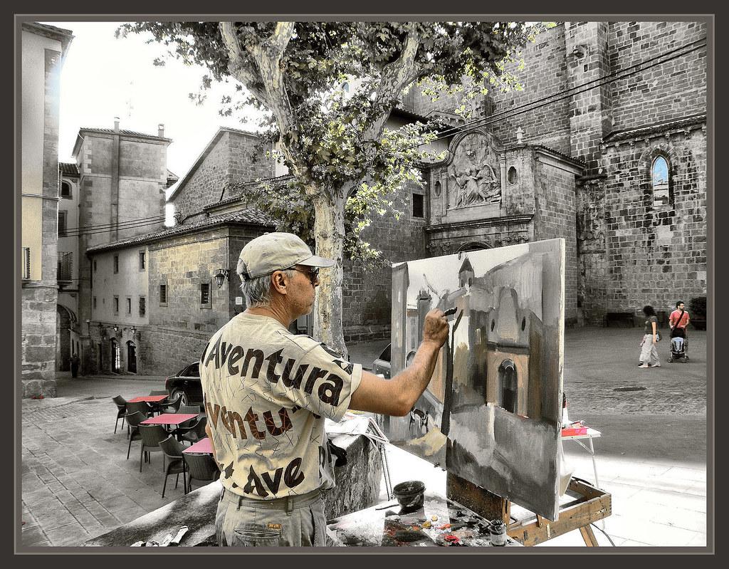 Solsona lleida lerida pintors catalans pintores catalunya flickr - Pintores en lleida ...