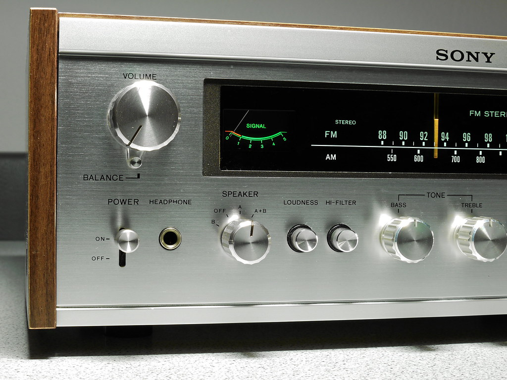 Sony Str 7035 Stereo Receiver 1974 Not The Biggest In