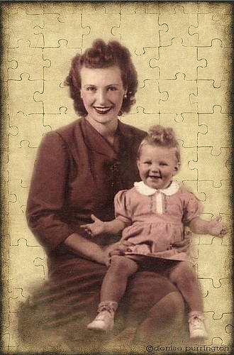 ~ Her Grandma Loved Puzzles ~ | by Denise Purrington {{say hello to my Little Bears:)