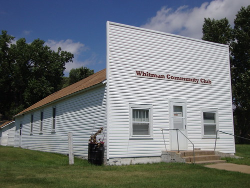 Whitman Community Club (Whitman, Nebraska) | by courthouselover
