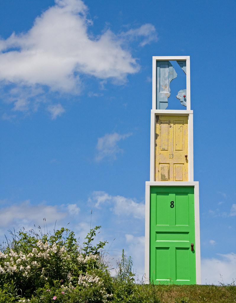 ... Funky Doors (1008) | by Rajagrover & Funky Doors (1008) | Grand Pre Nova Scotia Artists created \u2026 | Flickr