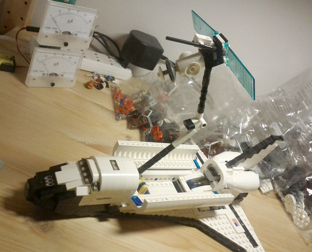 lego space shuttle orbiter - photo #6