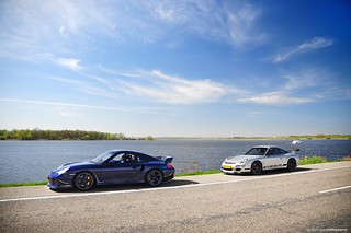 Porsche 996 GT2 Edo Competition & Porsche 997 GT3RS | by Laurens Grim