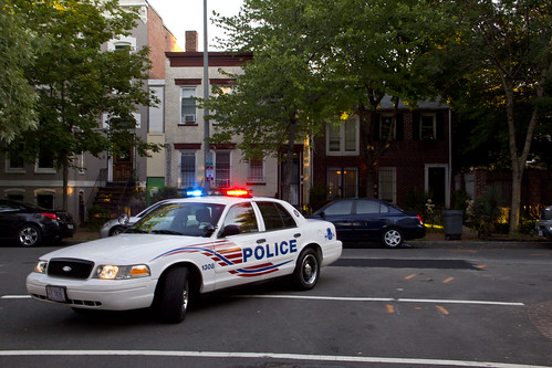 2011 08 23 - 1707 - Washington DC - Police at 9-10-O-P NW | by thisisbossi