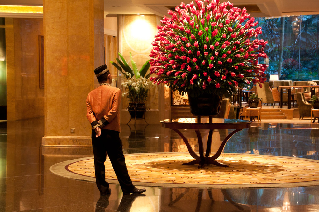Hotel Foyer Display : Magnificent floral display shangri la hotel kuala lumpu