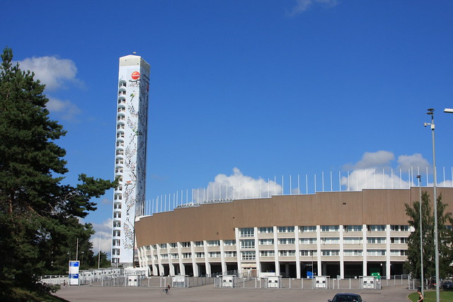 Estadio olímpico de Helsinki