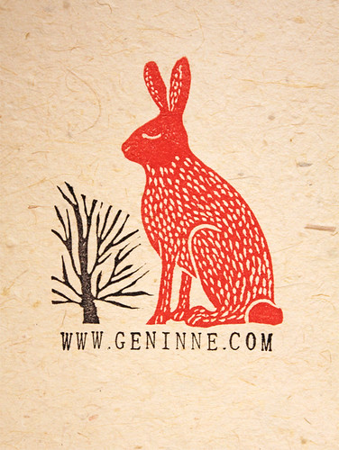 Red Hare Stamp | by Geninne