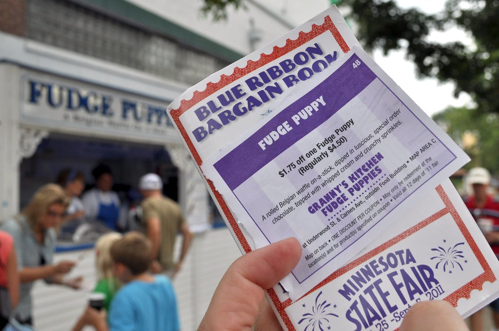 Aug 23,  · The Blue Ribbon Bargain Book features coupons with huge savings on food, merchandise and attractions valid all 12 days of the fair! See a list of the Blue Ribbon Bargain Book coupons! Cost. $5 per book; Where to Purchase. Books can be purchased at State FairWear Gift Shops and Bargain Book & State Fair Poster Carts.